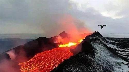 英国开发出无人机载火山监测装置