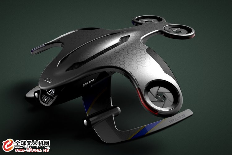 Audi Patrone 概念无人机助未来警察执法
