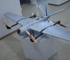 倾转翼垂直起降固定翼无人机SV180续航120分钟