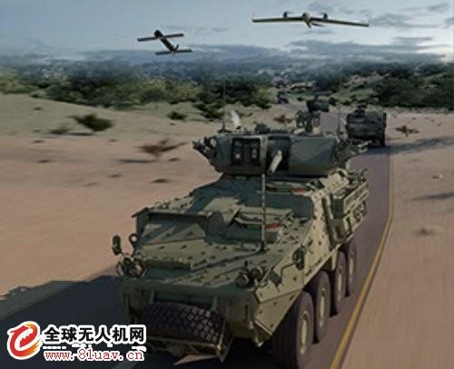 AeroVironment和通用动力联合为装甲车辆集成无人机