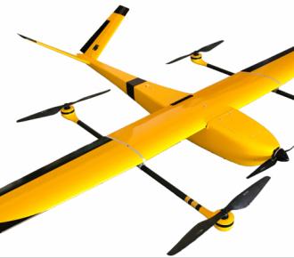 c200型电动垂直起降固定翼无人机复