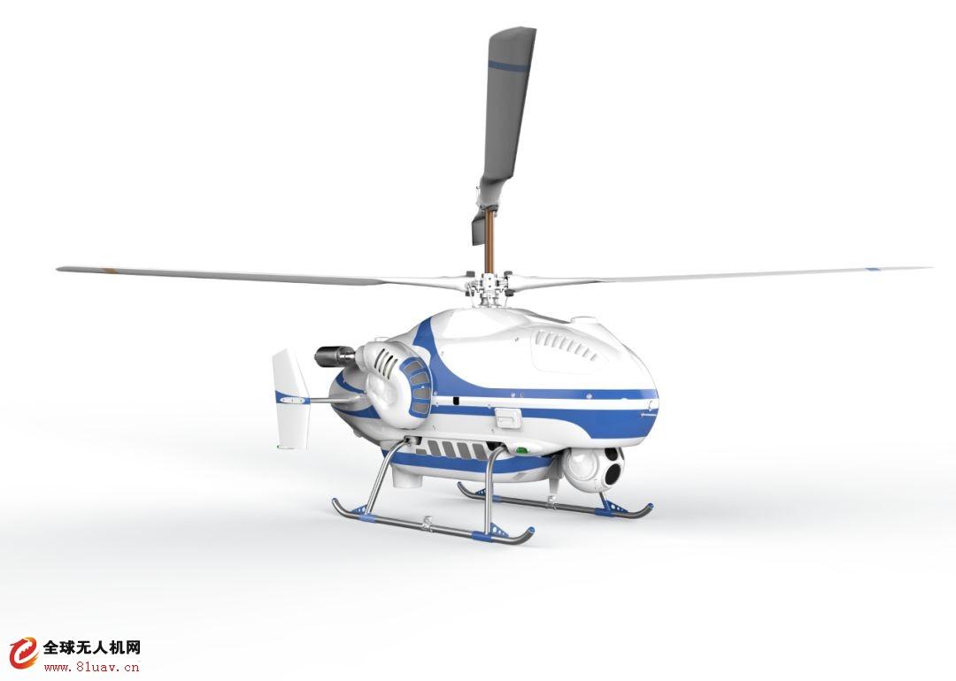 """共轴反桨无人直升机_中航智TD220共轴无人直升机亮相""""中国改革开放四十年通用航空 ..."""