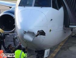 墨西哥班机与无人机相撞 机头损坏无人受伤