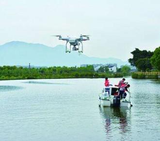 无人机水源水质监测