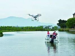 無人機水源水質監測