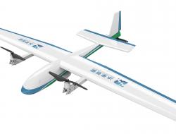 倾转式固定翼无人机  灵活便携的小型固定翼
