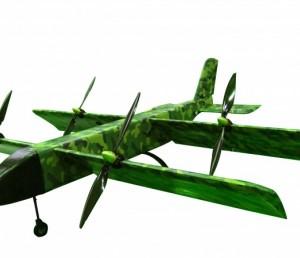 山东猎鹰公司 LY—B4倾转变翼无人机 长航时 大载荷