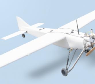 北京中纬宇翔 YX-1固定翼无人机