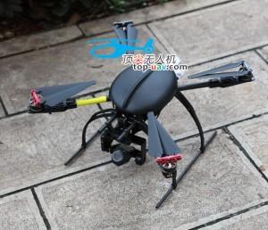 TOP-650-10X變焦電力巡線無人機系統