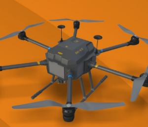 江蘇數字鷹SK-62 六旋翼警用無人機