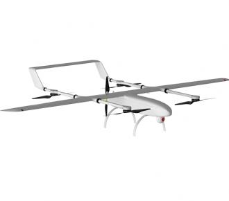 垂直起降固定翼無人機KWT-GX350-H油