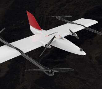 武汉智能鸟V516垂直起降固定翼无人