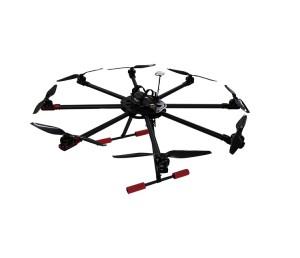 四川翼飛8軸多旋翼電力架線無人機