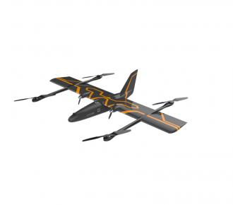 華鷂P316無人機航測系統