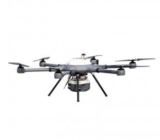 上海華測P550六旋翼無人機航拍測繪