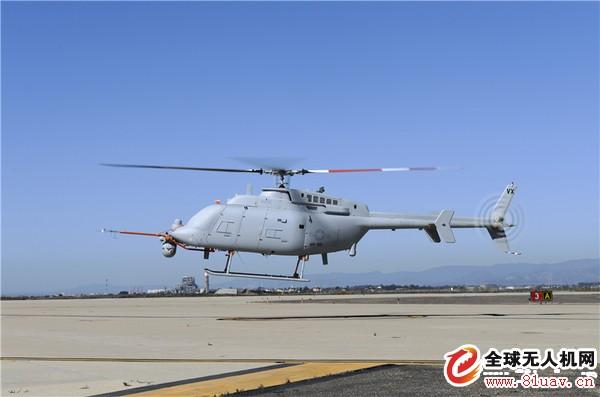美军MQ-8无人机 全球第一款投入实战的武装「无人直升机」