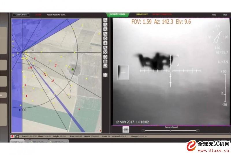 因应威胁 IAI台湾反无人机系统(无人机哨兵)再升级