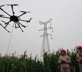 成都6軸電力架線無人機廠家