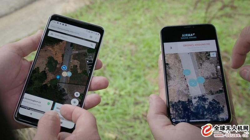 打破无人机供应商界限! 一个程式告诉你附近有何航拍机飞行