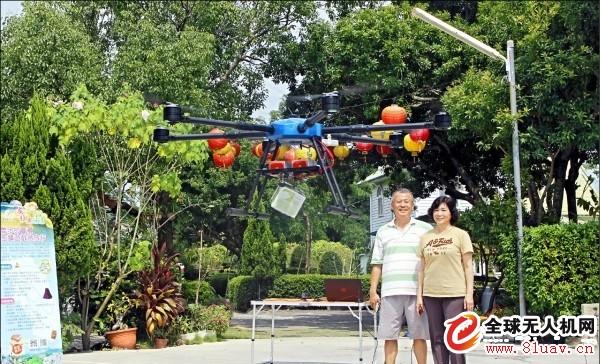 台无人机送件规模扩大 落实 3 月飞进阿里山送茶叶