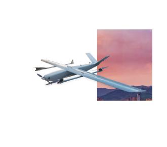 鹰眼科技垂直起降型固定翼无人机(