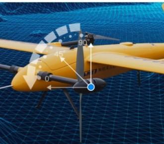 智航V200倾转旋翼固定翼无人机