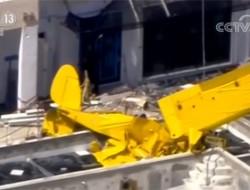 美國小飛機撞高樓