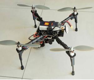 北京嘉越华泰四旋翼飞行机器人