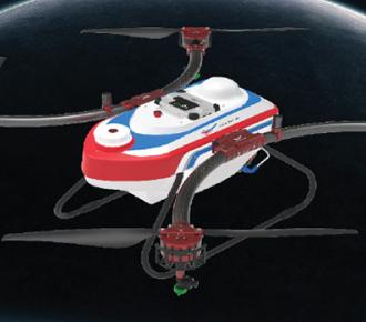 天鹰兄弟TY-M12多旋翼植保无人机