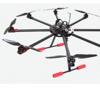 成都翼飛6軸多旋翼電力放線無人機