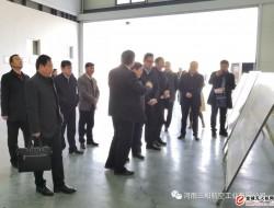 河南省发改委副主任刘文生一行到河南三和航空公司调研指导