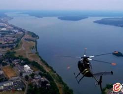 無人機與直升機的危險距離 操作員發文認錯