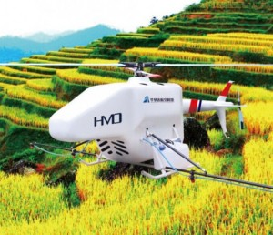 南昌华梦达HMD-5N农用无人直升机
