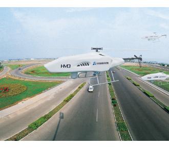 华梦达HMD-3A 36KG级无人直升机