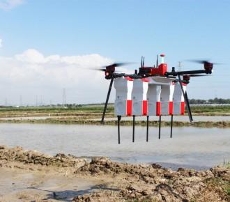 播種施肥植保多功能多農業無人機 10