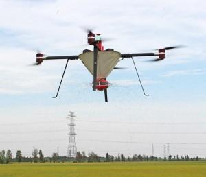 喷洒播撒喷粉多功能农业无人机(短轴) 20L/20KG