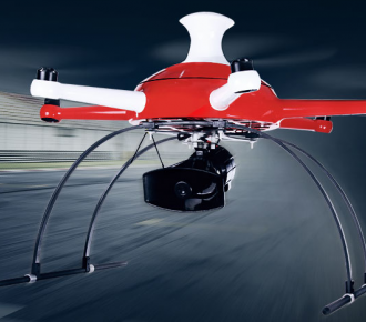 洲际通航新型六轴多旋翼无人机ICNA6