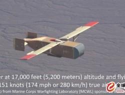 美军测试木板无人机 可空投物资700磅
