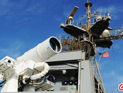 美国海军驱逐舰2021年将装备高能激光武器打击无