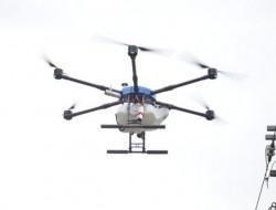 阿里山无人机物流测试
