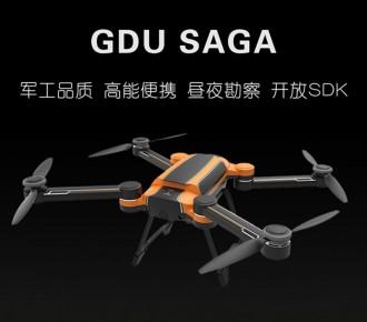 普宙工业无人机GDU SAGA(7km图传、