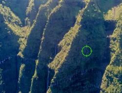 无人机飞越夏威夷悬崖峭壁 寻获绝种植物