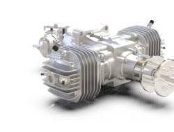 Sky Power公司推出无人机新型双缸发动机SP-275 TS CR