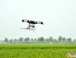 國內首次橡膠樹無人機植保飛防成功