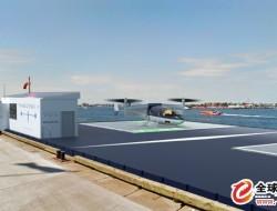 Transcend Air為空中出租車建造環保的垂直起降飛機停機坪