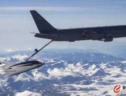 美国空军使用B-2和EC-130H飞机测试KC-46A加油机测试性能