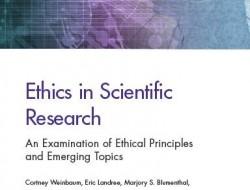 兰德报告:科学伦理——伦理准则与新兴主题考察