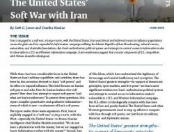 CSIS简报:美国与伊朗的软战争