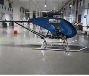 100公斤载重无人直升机