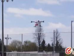 加拿大試驗無人機運載 AED,證比救護車更快到場